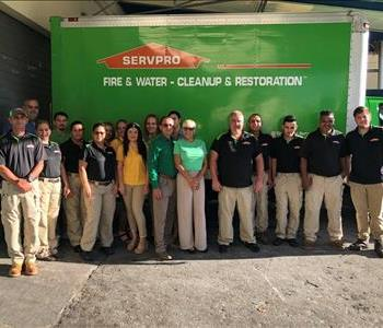 Employees of SERVPRO of Wynwood